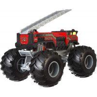 Hot Wheels Monster trucks velký truck 5 Alarm Red