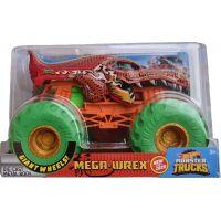 Hot Wheels Monster trucks velký truck Mega-Wrex oranžovozelený