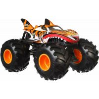 Hot Wheels Monster trucks velký truck Tiger Shark