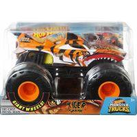 Hot Wheels Monster trucks velký truck Tiger Shark 2