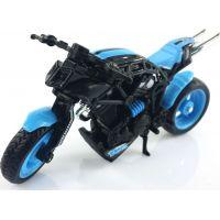 Hot Wheels motorka X - Blade Modrá