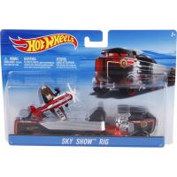 Hot Wheels Náklaďák Sky Show Rig