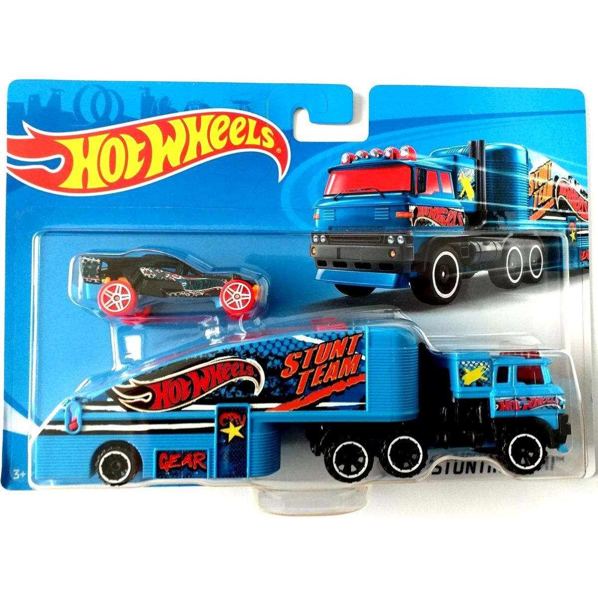 Hot Wheels náklaďák Stuntin Semi