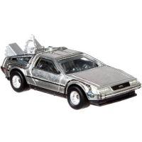 Hot Wheels prémiové auto Back to the Future time Machine 2