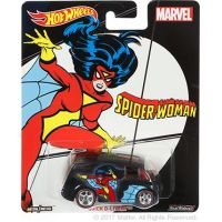 Hot Wheels prémiové auto Quick D-Livery Spider Woman