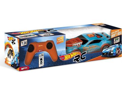 Hot Wheels modré Drift Rod RC 1:24 - Modrá