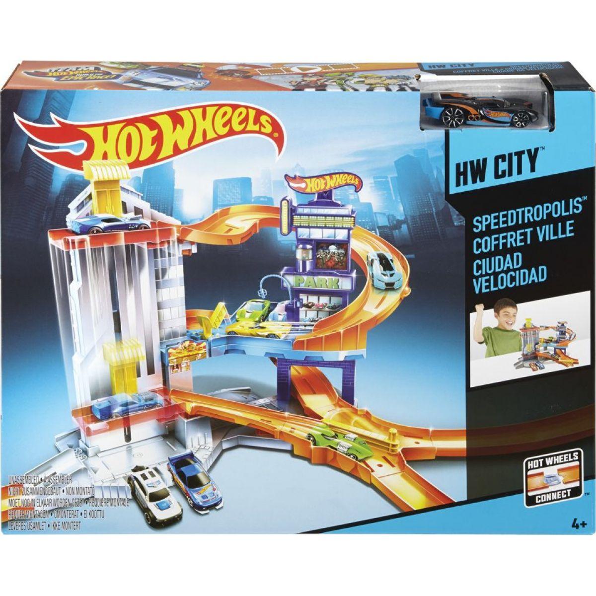 Hot Wheels Set Dobrodružství ve městě