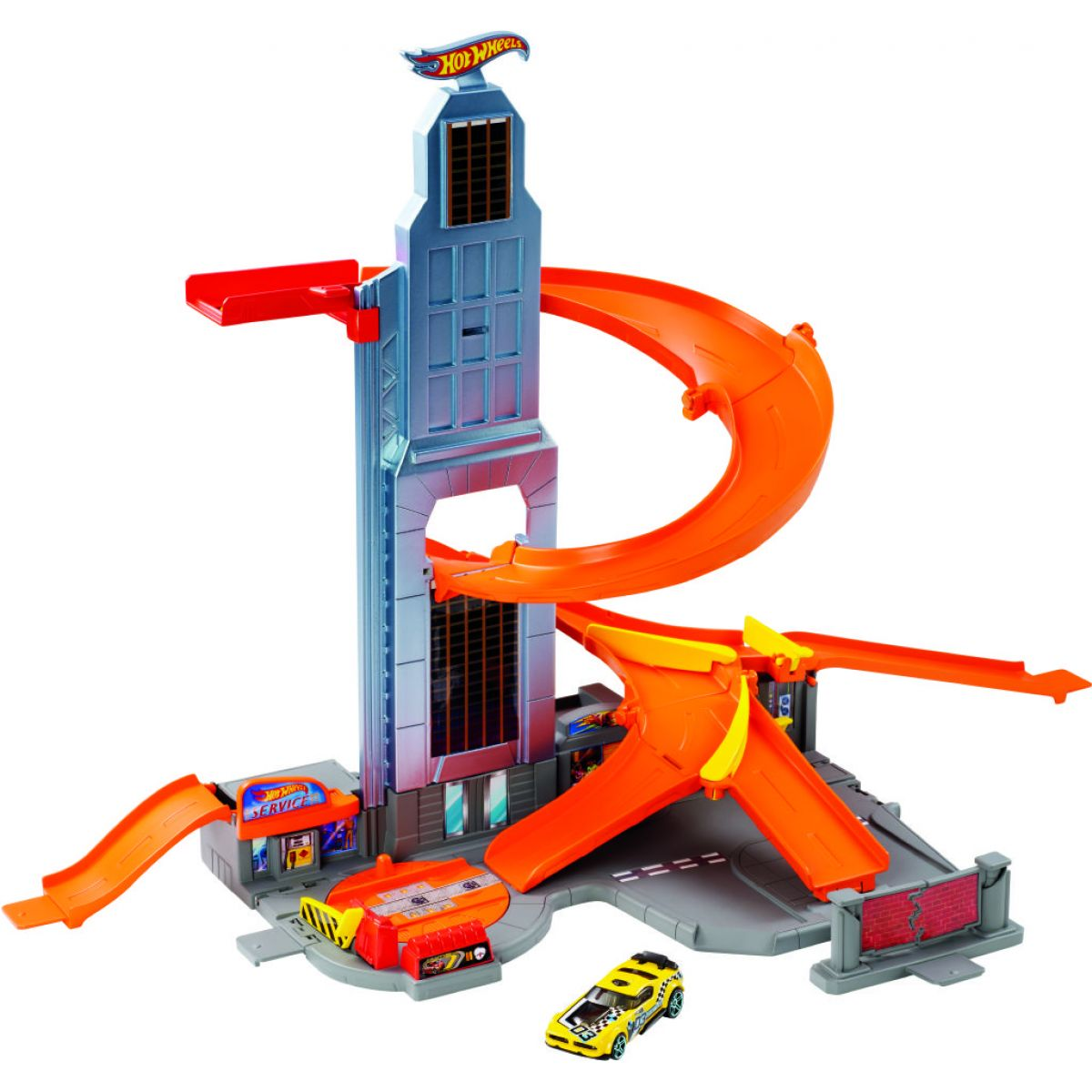 Hot Wheels Set s mrakodrapem