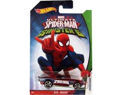 Hot Wheels Spiderman Autíčko - BLVD. Bruiser