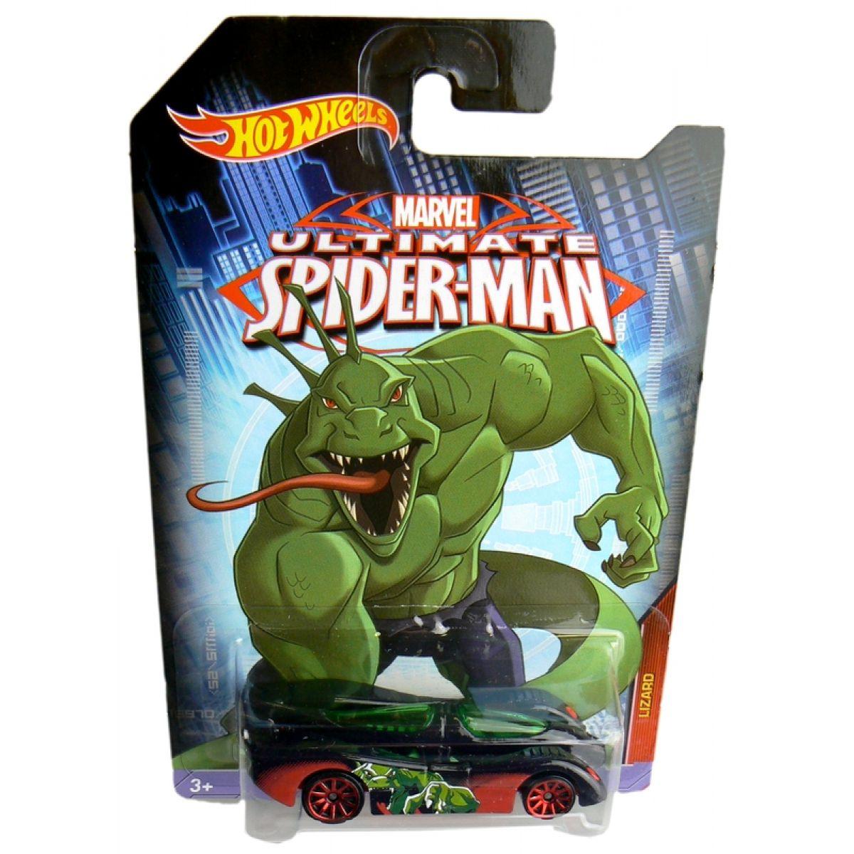 Hot Wheels Spiderman Autíčko - Lizard