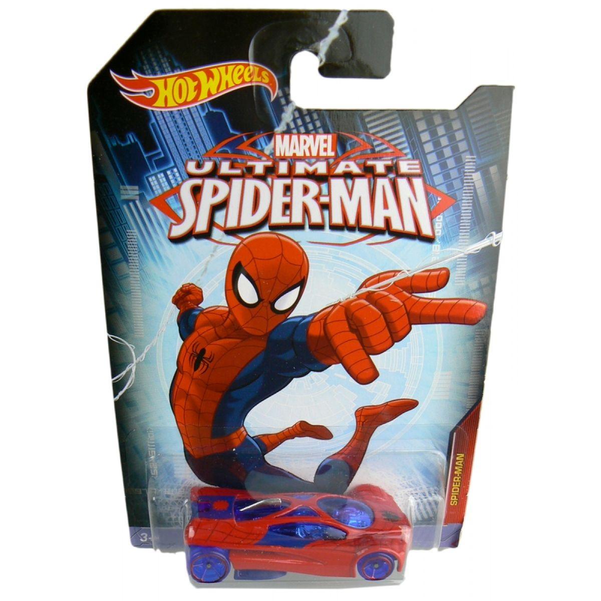 Hot Wheels Spiderman Autíčko - Spider-man