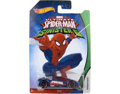 Hot Wheels Spiderman Autíčko - Zotic Spider Man