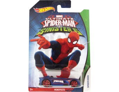Hot Wheels Spiderman Autíčko - Monoposto