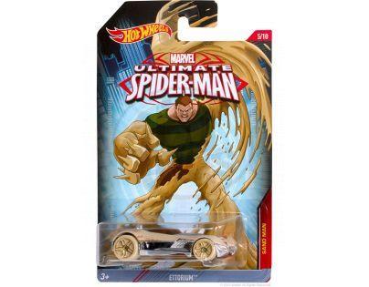 Hot Wheels Spiderman Autíčko - Sand Man