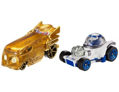 Hot Wheels Star Wars 2ks autíčko - C-3PO a R2-D2