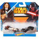 Hot Wheels Star Wars 2ks autíčko - Obi-Wan Kenobi a Darth Vader 4
