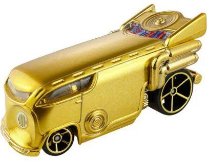 Hot Wheels Star Wars Autíčko C-3PO