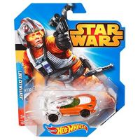 Hot Wheels Star Wars Autíčko - Luke Skywalker 3