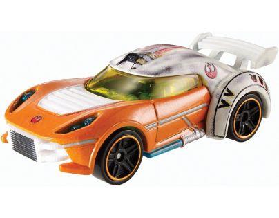 Hot Wheels Star Wars Character cars angličák - Luke Skywalker DXP41