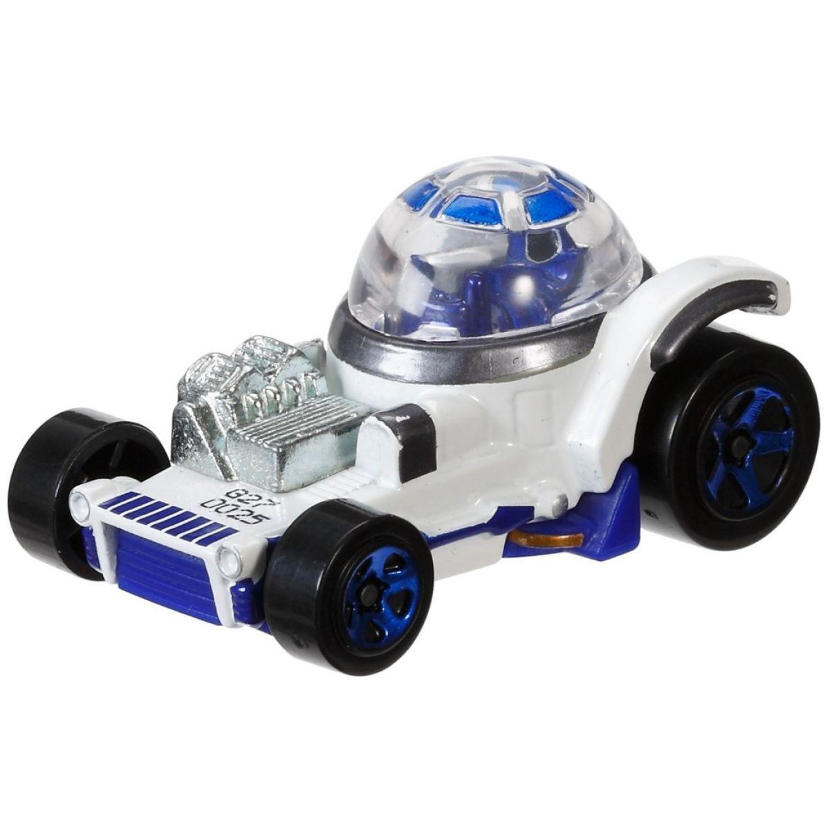 Hot Wheels Star Wars Character cars angličák - R2-D2 DXP42