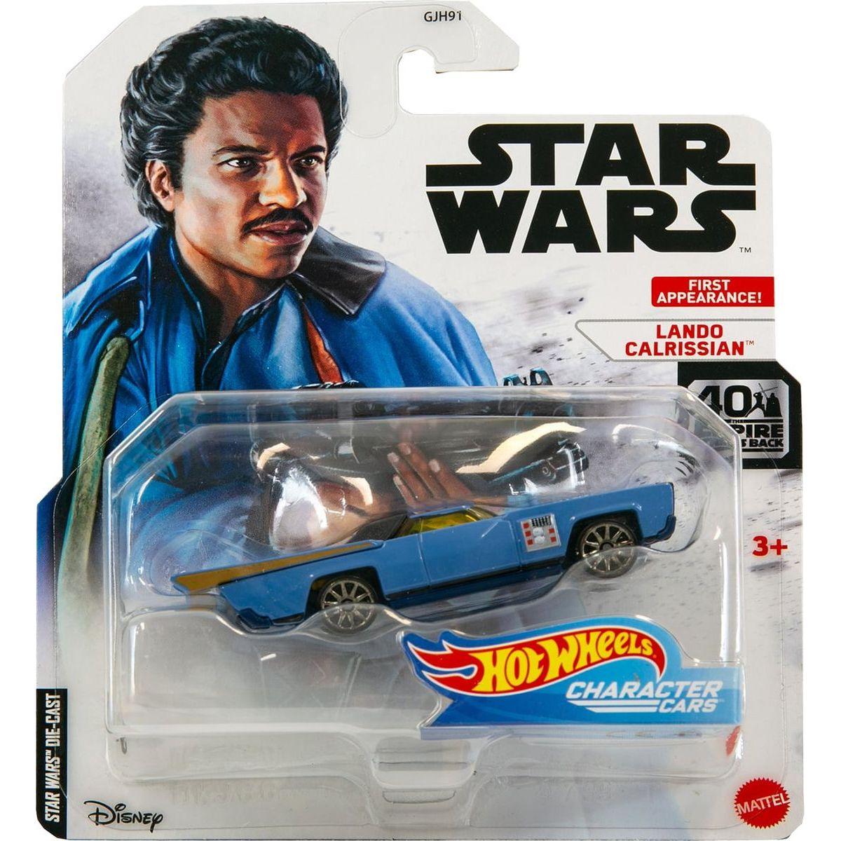 Hot Wheels Star Wars Character Cars Lando Calrissian