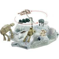 Hot Wheels Star Wars Hrací set s hvězdnou lodí - Hoth Echo Base Battle 4