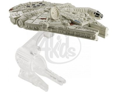 Hot Wheels Star Wars Kolekce hvězdných lodí - Millennium Falcon