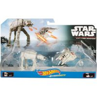 Hot Wheels Star Wars Starship - AT-AT vs. Rebel Snowspeeder DYH43 2