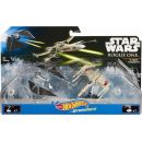 Hot Wheels Star Wars Starship - Tie Striker vs. X-Wing Fighter DXM38 2