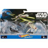 Hot Wheels Star Wars Starship - Tie Striker vs. X-Wing Fighter DXM38 2