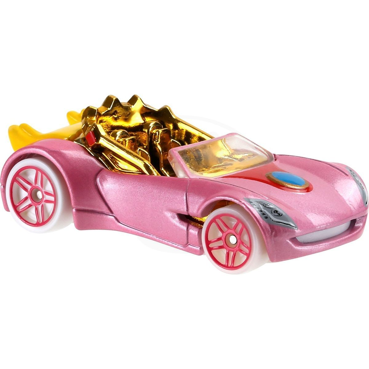Hot wheels super mario angličák princess peach kids