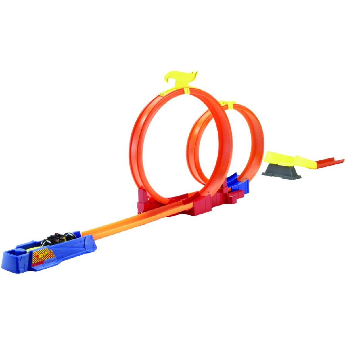 Hot Wheels Supermotorka profi dráha - Double Loop