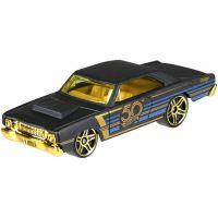 Hot Wheels Tématické auto 50. let výročí Black & Gold 68 Dodge Dart