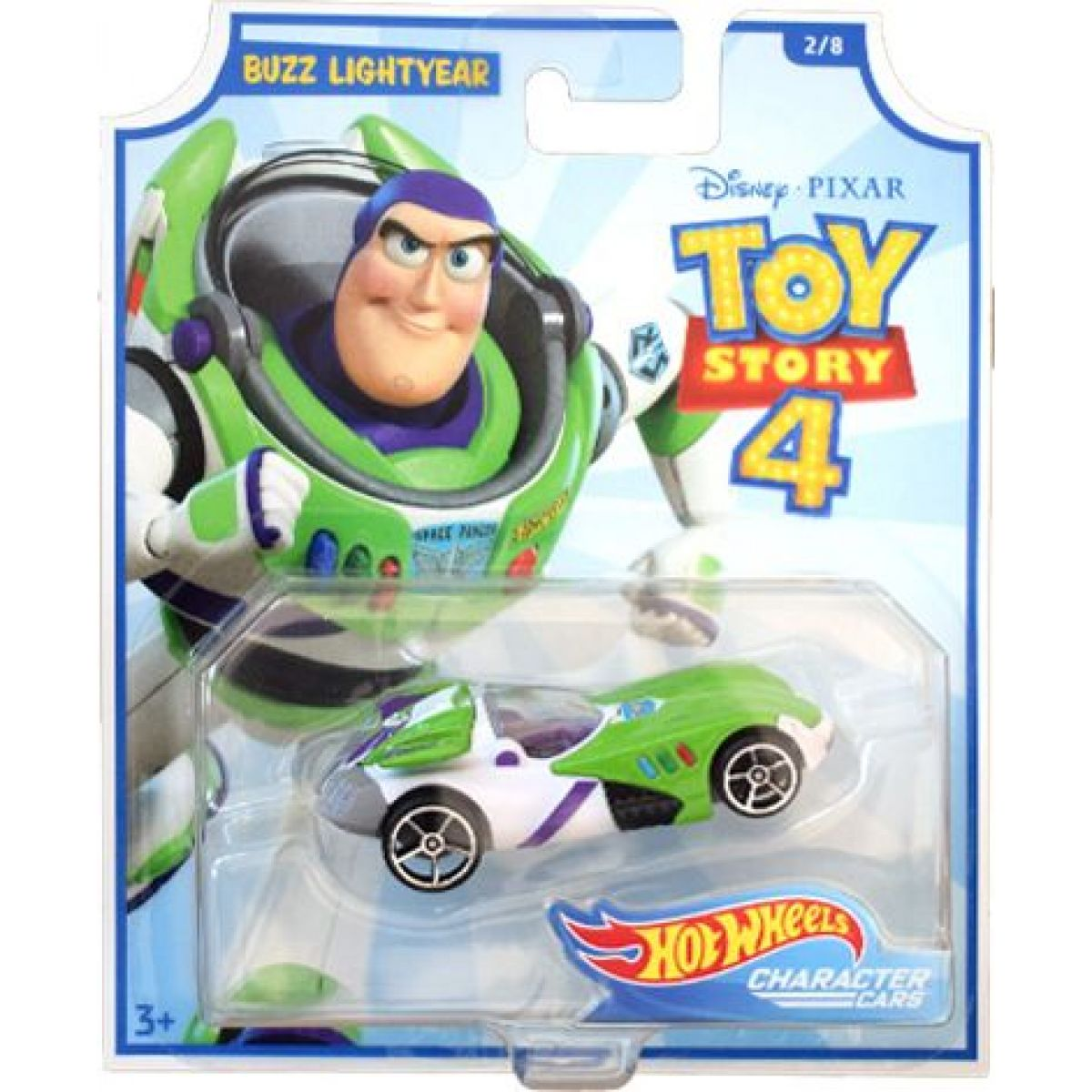Hot Wheels tematické auto Toy story Buzz Lightyear