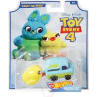 Hot Wheels tematické auto Toy story Ducky and Bunny 2