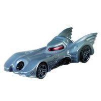 Hot Wheels Tématické auto Batman Batmobil šedý