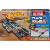 Hot Wheels Track builder doplňky a dráhy - DJD68 2-Lane Launcher 2