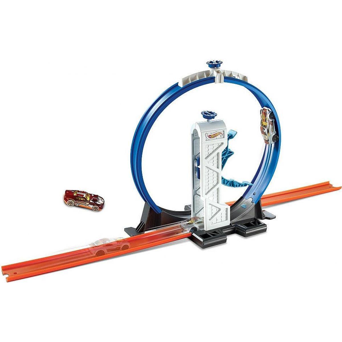 Hot Wheels Track builder doplňky a dráhy - DMH51 Loop Launcher