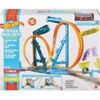 Hot Wheels track builder nekonečná smyčka herní set 2
