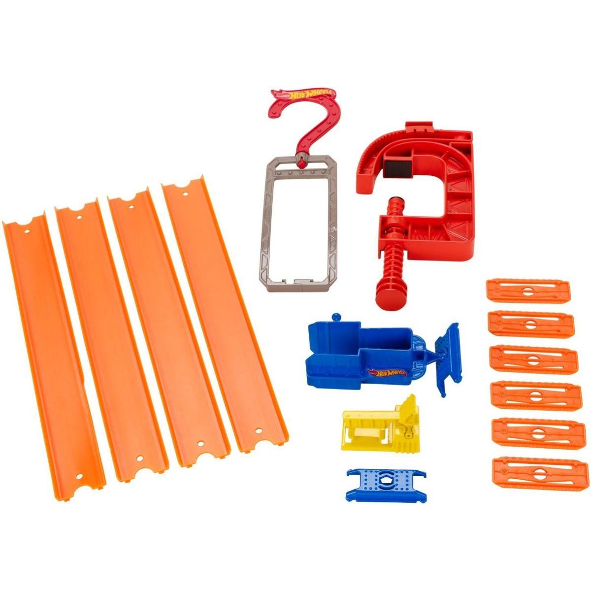 Hot Wheels Track Builder Rozšiřující set - Gravity Pack