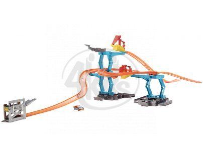 Hot Wheels - Track builder - spirálová dráha (CDL56)