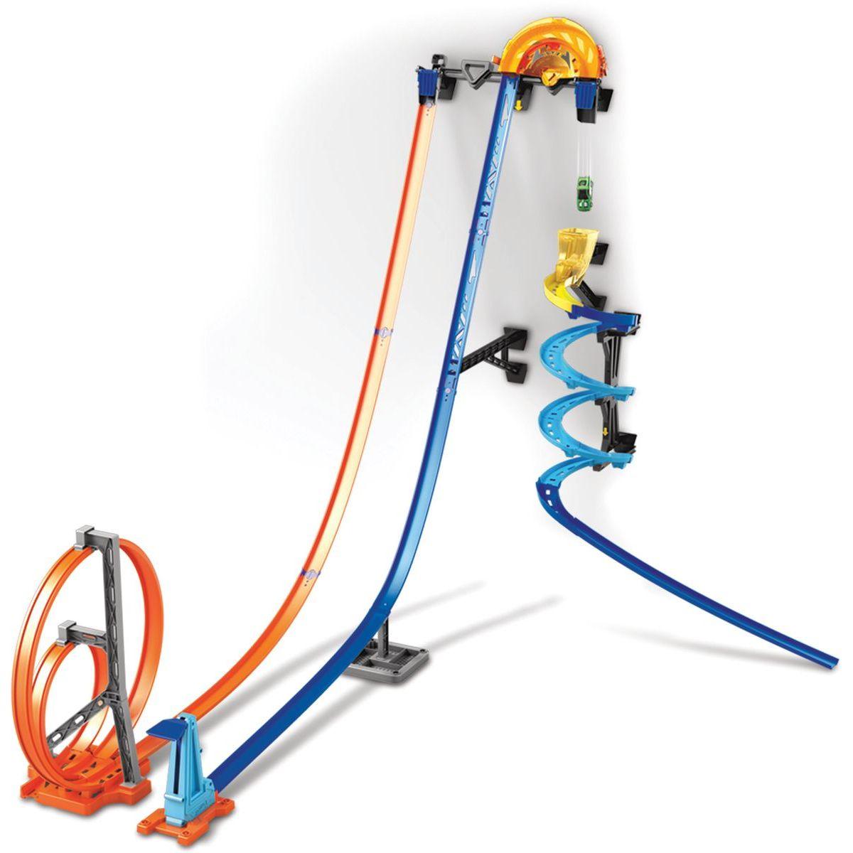 Mattel Hot Wheels track builder svislá dráha