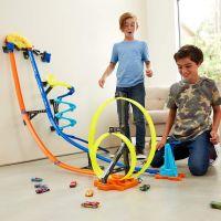 Mattel Hot Wheels track builder svislá dráha 2