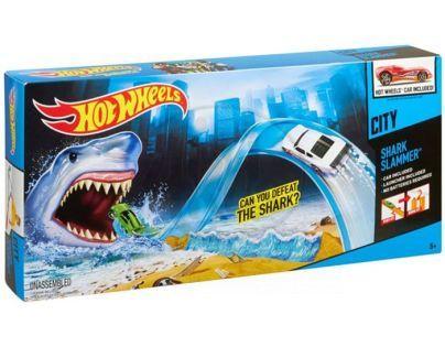 Hot Wheels Hrací sady speciálních efektů - Žraločí past