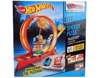 Hot Wheels Klasická hrací sada - Rychlá pizza