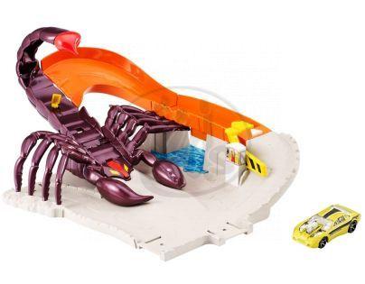 Hot Wheels Klasická hrací sada - Útok škorpiona