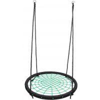 Alltoys Houpací kruh síť průměr 100 cm zelený