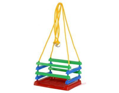 Toy Houpačka dětská plastová barevná na zahradu