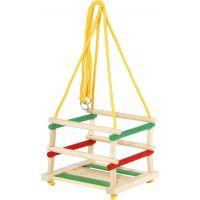 Toy Houpačka dřevěná barevná 6099