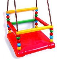 Houpačka plast 35 x 34 cm nosnost 40 kg červený sedák